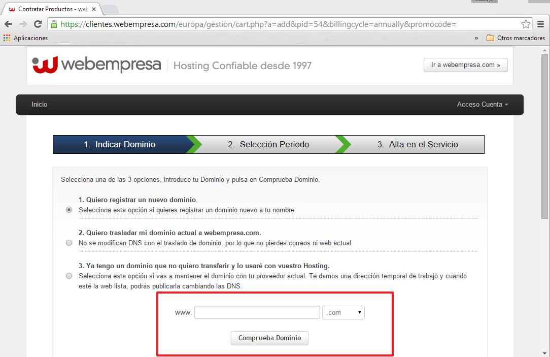 Dominio-web-webempresa
