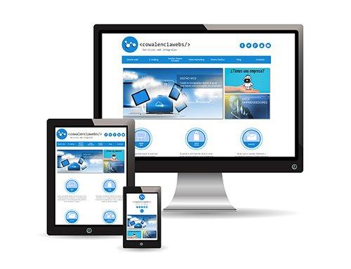 usabilidad responsive diseño web valencia