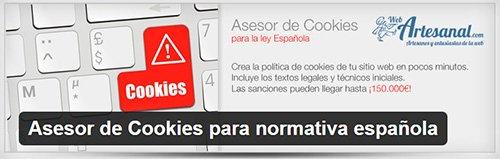 asesor de cookies normativa española