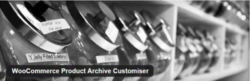 WooCommerce Product Archive Customiser usabilidad plugin gratuito