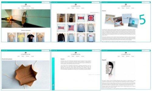 Usabilidad coherencia visual diseño web valencia