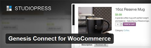 plugin genesis connect for woocommerce