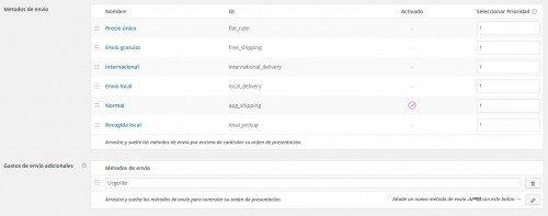 Crear un nuevo tipo de envío en woocommerce con  APG shipping
