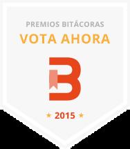 Cómo no perdemos nada, nos presentamos al premio bitácoras 2015!!