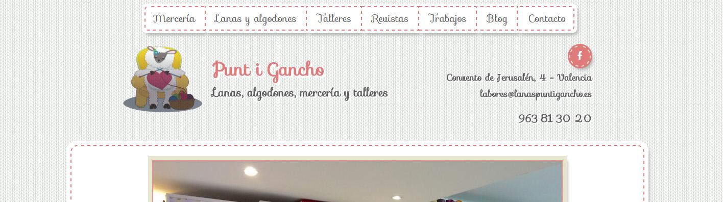 diseño web merceria punt i gancho valencia 03