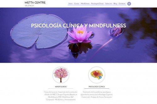 diseño web metta centre psicologia clinica mindfulness 01