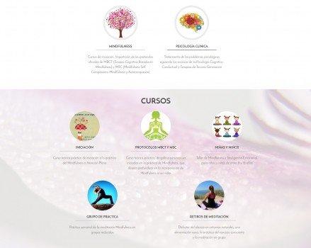 diseño web metta centre psicologia clinica mindfulness 02