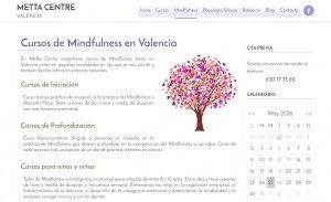 diseño web metta centre psicologia clinica mindfulness 04