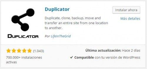 migrar web hosting wordpress plugin duplicator 01