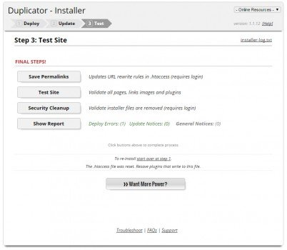 migrar web hosting wordpress plugin duplicator 09