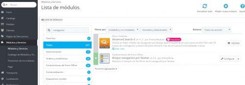 configuracion navegacion por facetas prestashop tienda online