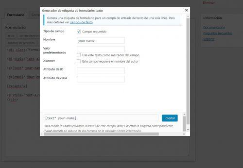 Añadir CAPTCHA a MailRelay con Contact Form 7