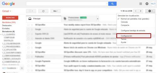 liberar espacio hosting configurar cuentas correo gmail 01